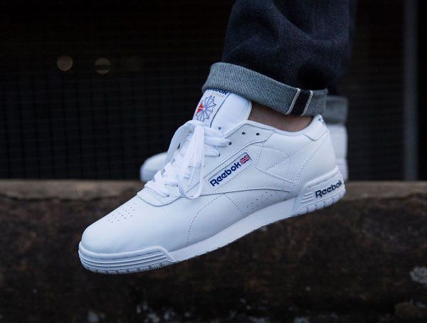 reebok classic high white blue red