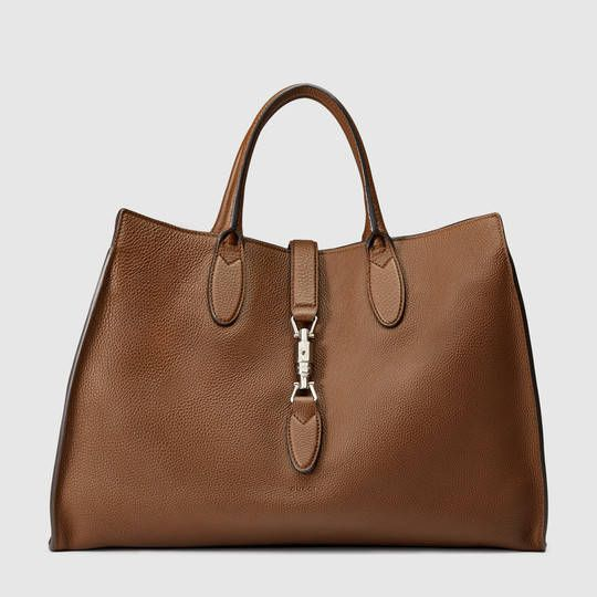 Gucci Jackie soft leather top handle bag