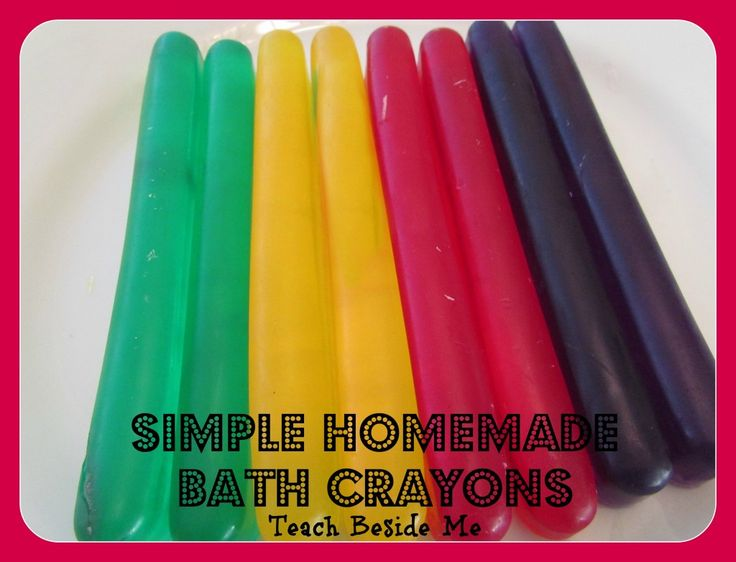 Homemade bath crayons~ Last minute stocking stuffer idea!!