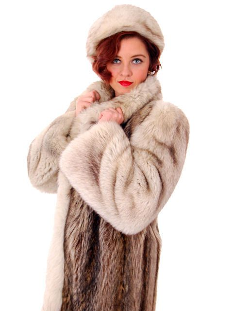 1000  ideas about Vintage Fur Coat on Pinterest | Brown fur coat
