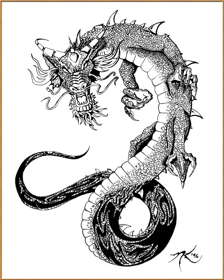 Oriental Tattoo Designs Free