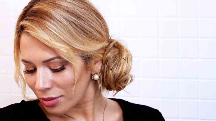 Chic Chignon Hairstyle in Under Five Minutes