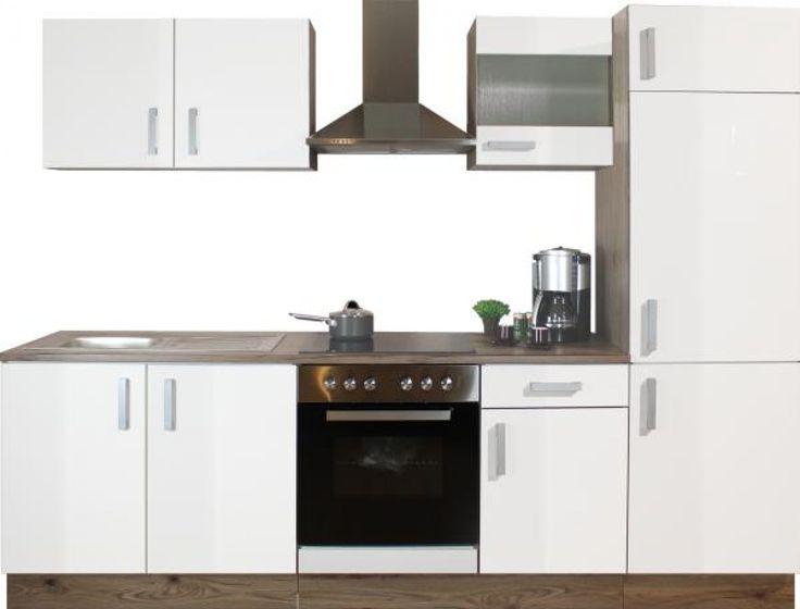 k chenblock blanca 270 cm online bei poco kaufen wohnung pinterest k che kuchen und. Black Bedroom Furniture Sets. Home Design Ideas