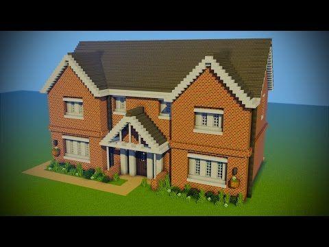 Minecraft - Suburban House Tutorial (Minecraft House) - YouTube