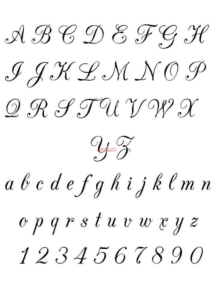 Free Fonts | Calligraphy - Free Download Tattoo #3504 Calligraphy With Resolution ...