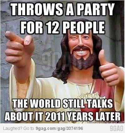 #Jesus #Jokes: Rock On, Party Animal, Truth, Jesus Rocks
