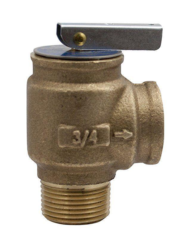 Apollo Valve 10-400 Series Bronze Safety Relief Valve, ASME Hot Water, 30 psi Se #ApolloValve