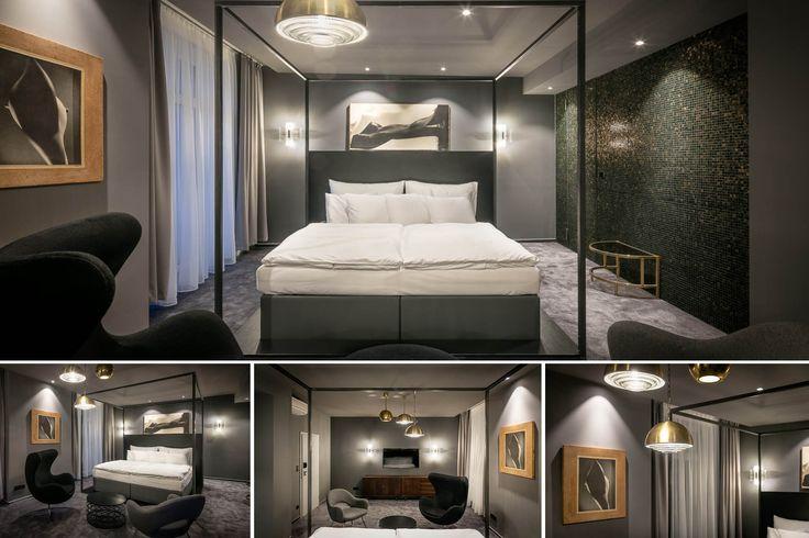 103 | Padesát odstínů šedi | Petr Stolín #pytloun #design #room #hotel