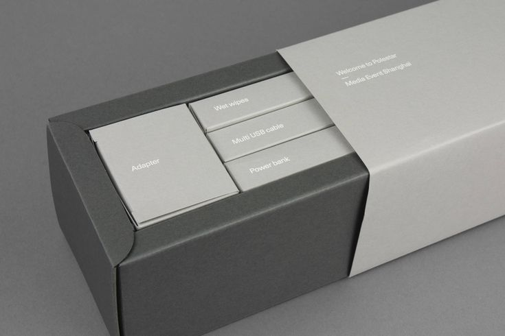 Giveaway-box for Polestar. Design by SCP Grey.
