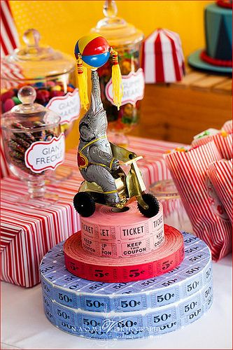 Circus Birthday Party Ideas | Photo 1 of 8 | Catch My Party
