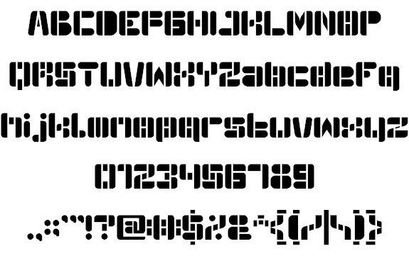 Image for Auto Bots font