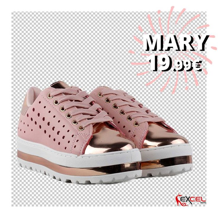 Womens New Arrivals!!! Mary 19,99€ 🚚 Δωρεάν μεταφορικά για Ελλάδα #excelshoes #ss17 #spring #summer #2017 #shoes #women #womenfashion #sneaker #thessaloniki #papoutsia #gunaika #παπουτσια #moda