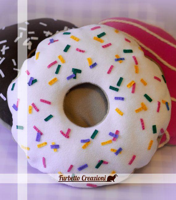 Cuccia per Furetti - Donuts con Glassa Bianca