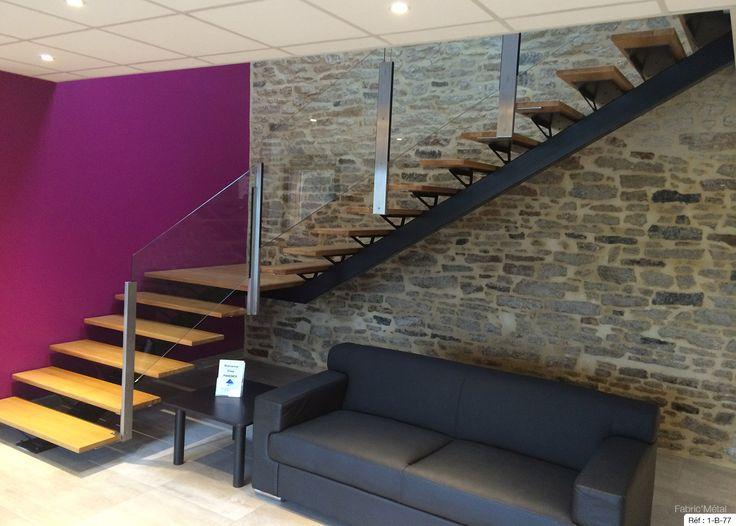 about Escalier Quart Tournant on Pinterest  Escalier design, Escalier
