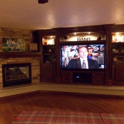 17 best ideas about corner entertainment centers on pinterest corner tv cabinets home corner. Black Bedroom Furniture Sets. Home Design Ideas