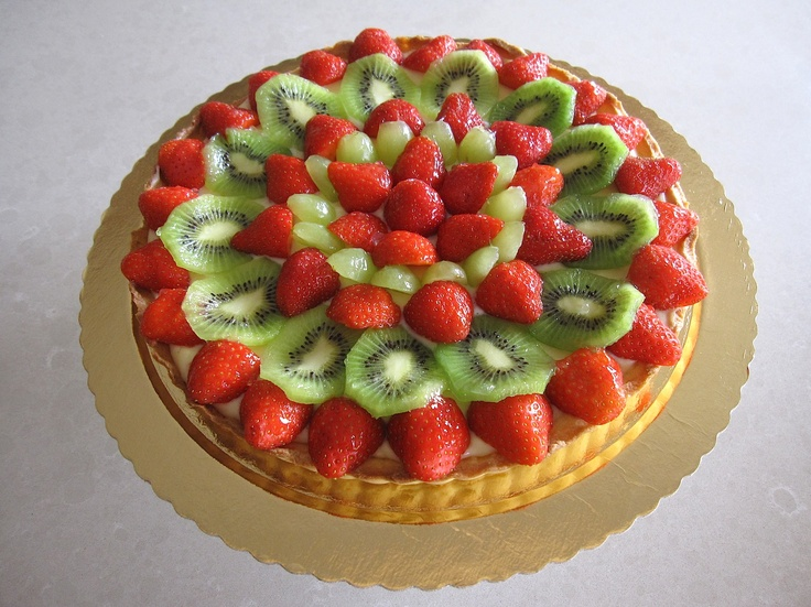 Mixed Fruit Crostata