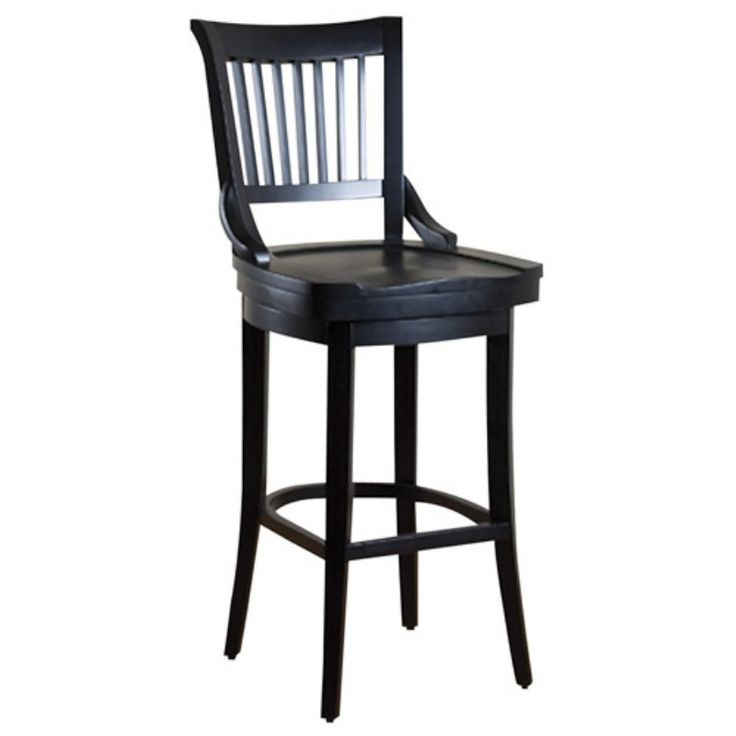 Counter Height Bar Stools Wood Simple Wooden Swivel