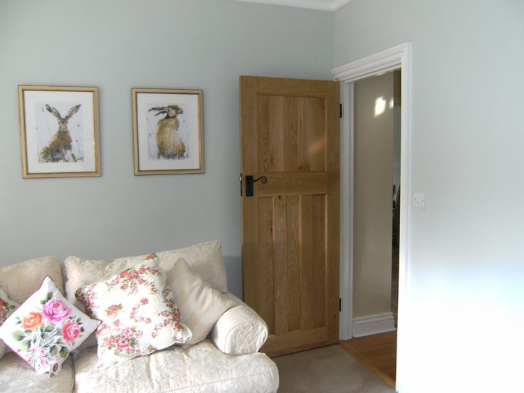 1930s Door Made From Solid Oak One Over Three
