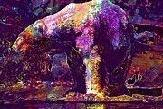 """New artwork for sale! - """" Polar Bear Predator Zoo White Bear  by PixBreak Art """" - http://ift.tt/2fkmPjp"""