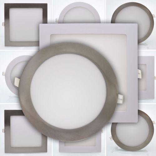 LED Panel Einbaustrahler Einbauspot Deckenleuchte Spot 3W 6W 12W 18W Deckenlampe