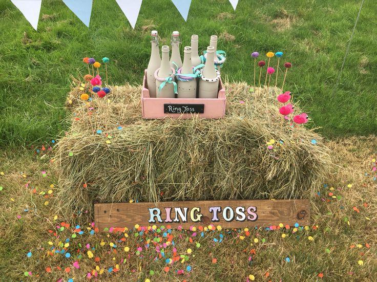 Wedding Garden Games Hire  Ring Toss. Wedding Fete Games