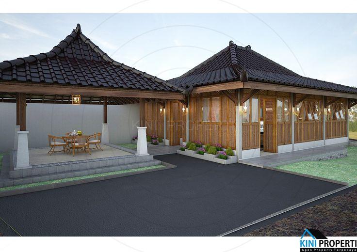 Villa Margoluwih Yogyakarta LB 95 dan LT 245m  Harga  Rp 775 Juta