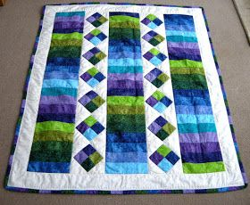 Katherine's Dabblings: Jelly Roll Quilt