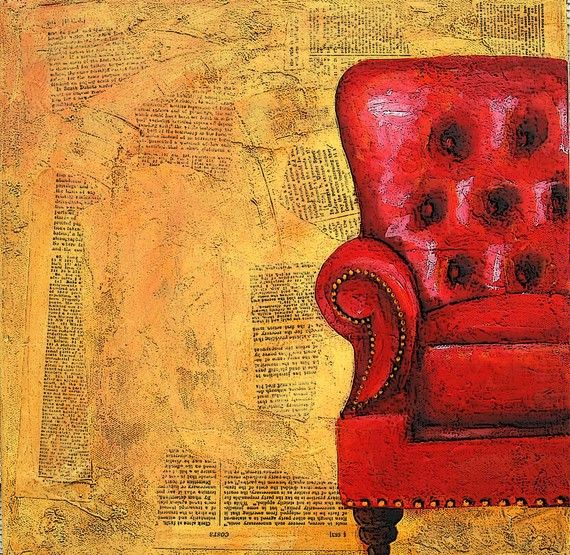 Nessa Dee - Red Chair