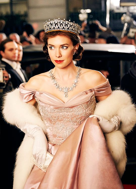 Vanessa Kirby in 'The Crown' (2016). x