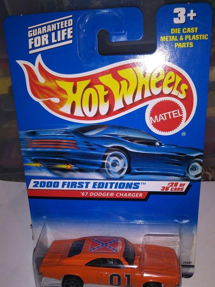 General Lee Dukes of Hazzard 69 Dodge Charger 500 custom Hot Wheels #HotWheels