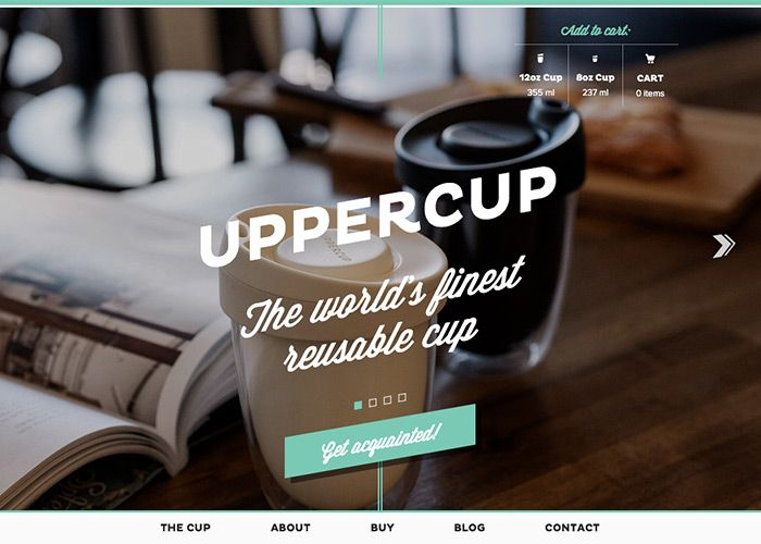 UPPERCUP e-commerce