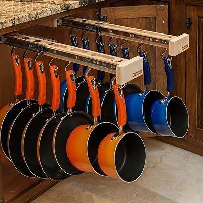 Double Glideware Kitchen Cabinet Organizers