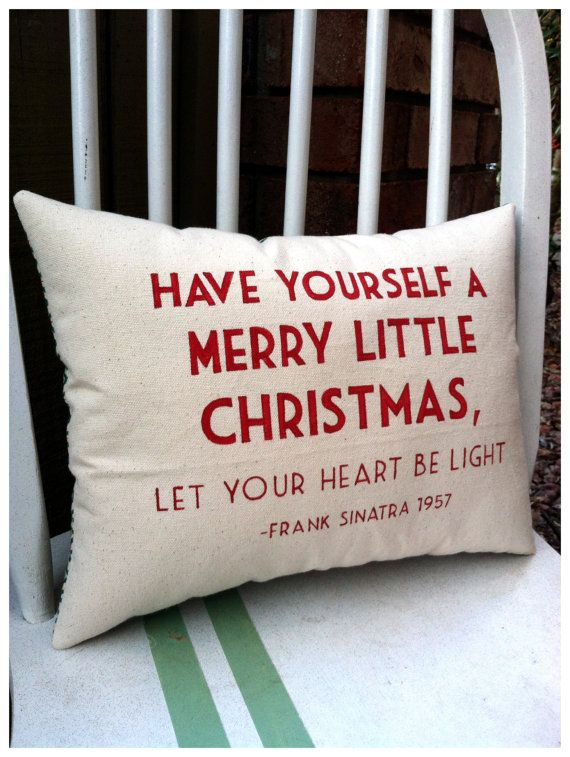Have Yourself a Merry Little Christmas Frank by ThreeYellowFinches
