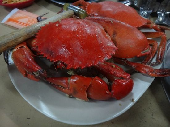 Seafood in Port Klang, day trip from KL
