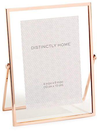 Rose gold frame - rose gold decor