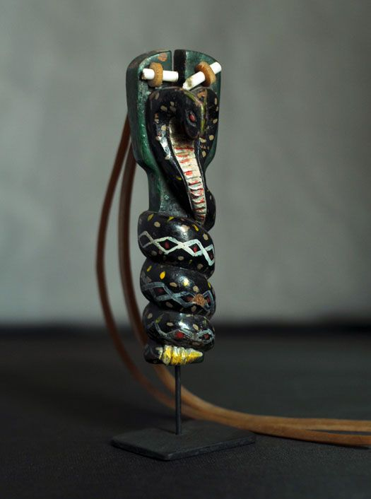 Snake SlingshotTitle: Snake Slingshot # 4933 Dimensions: 4 1/2″ tall Description: Good antique condition from Guatemala, Guatemala Price: $200.00 including shipping