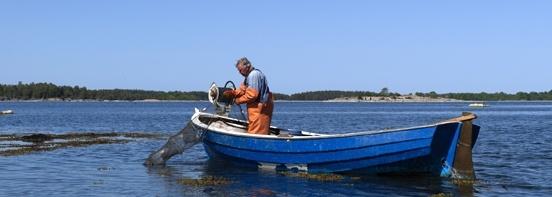 My fahther, at Sladö, Västervik archipelago