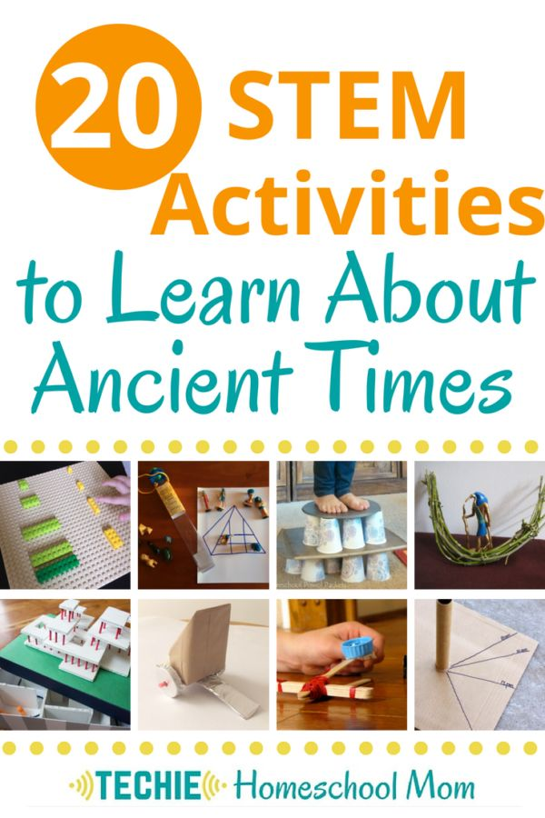 20 Cool STEM Actions to Study About Historical Occasions
