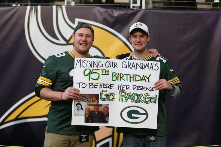Happy Birthday Grandma, #GoPackGo