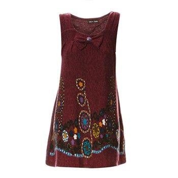 Robe courte - bordeaux - Soho Boulevard - Ref: 1716484   Brandalley