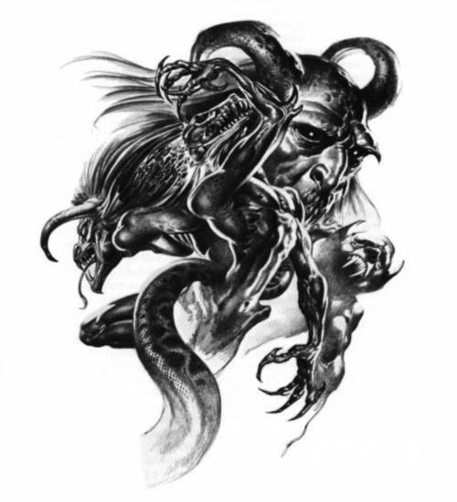 pin by crist bal ch on art tatoo pinterest devil dark fantasy and dark art. Black Bedroom Furniture Sets. Home Design Ideas
