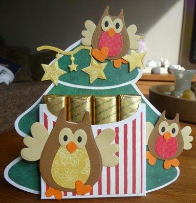 Creaties van Hetty: uilen !!!