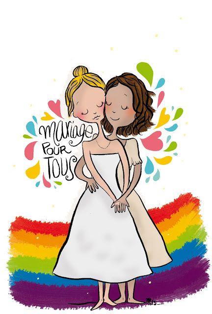 Illustration #Mariagepourtous Crayon d'Humeur www.crayondhumeur.com