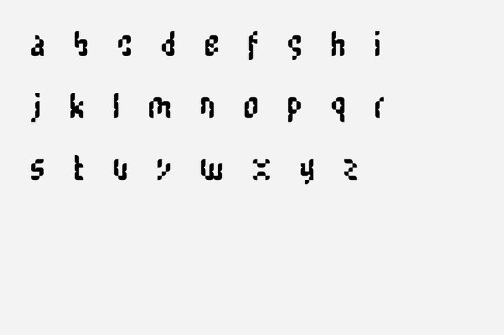 """Counter"" Typeface   Designer: Mark Gowing Design   Image 3 of 4"