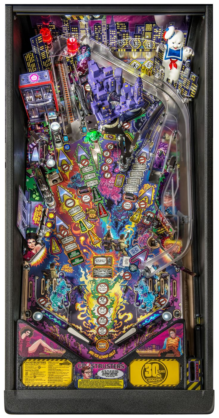 Ghostbusters, Stern Pinball, May 2016, playfield