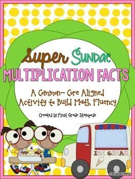 This packet is the PERFECT tool to increase motivation and engagement for building multiplication fluency. You can use this resource to build fluency in 3rd grade, or as a review in 4th grade!  Multiplication fluency, math facts, multiplication