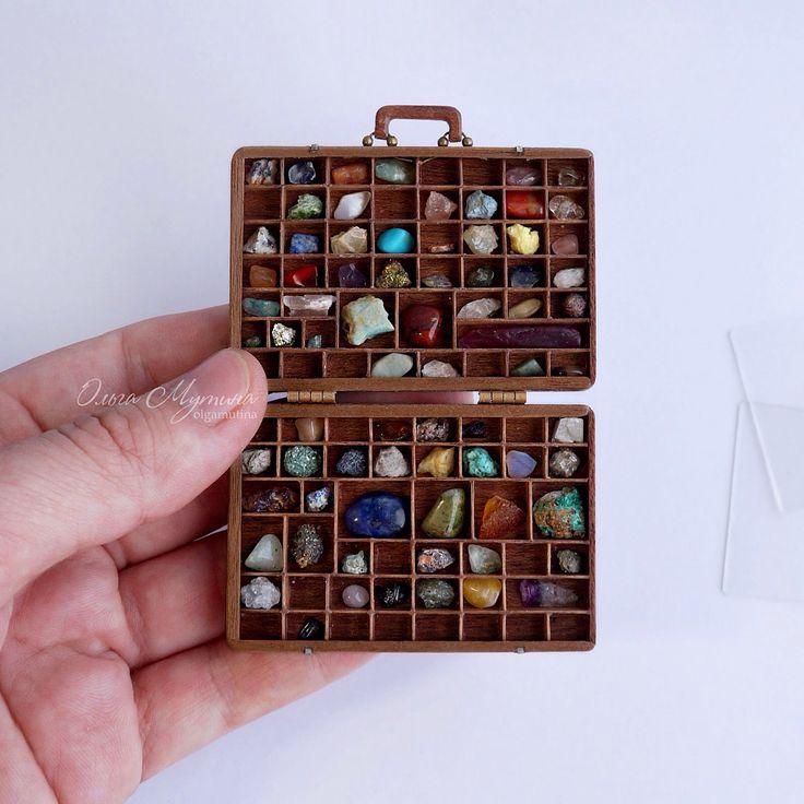 2017. Miniature Stones♡ ♡ By Olga Mutina