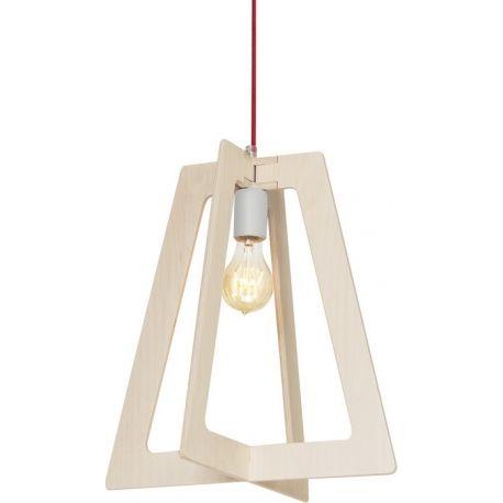 Lekka lampa sufitowa Intersection wykonana z drewnianej sklejki o nie małym rozmiarze. https://blowupdesign.pl/pl/31-wiszace-stojace-lampy-drewniane-design-skandynawski #lampywisząca #oświetlenie #lampydrewniane #woodenlamps #lighting
