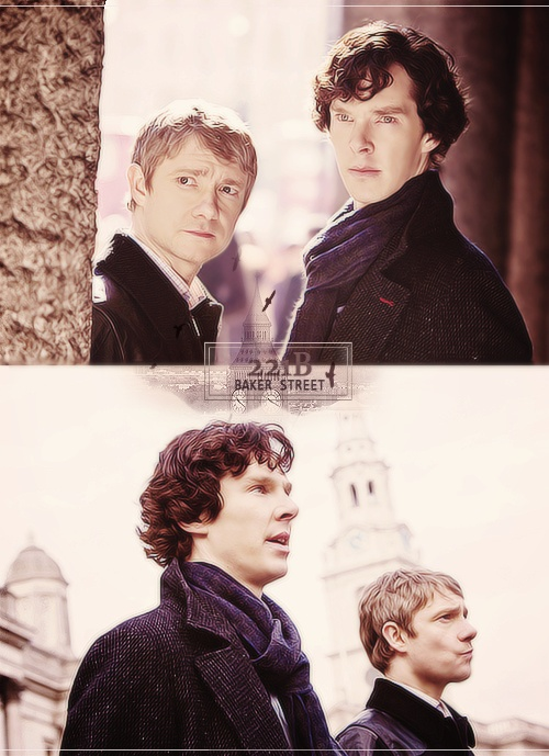 Sherlock & John the Baker Street Boys.....sounds like a band name...I wonder what Sherlock would say about that!