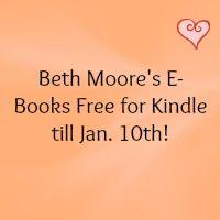 Kindle Freebies: Beth Moore